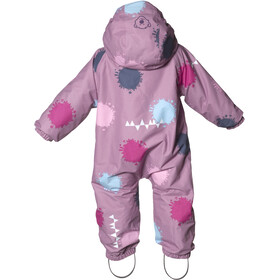 Isbjörn Toddlers Padded Jumpsuit Dusty Pink Globe